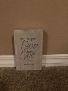 Small sign