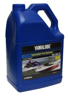Sell Yamaha Yamalube 10W-40 Mineral 4W 4-Stroke Watercraft Oil One Gallon motorcycle in Millsboro, Delaware, United States, for US $20.99
