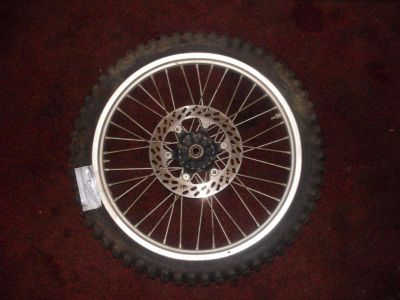 Find 1985 KTM 250EXC 250 EXC FRONT WHEEL HUB & RIM & TIRE & DISC DISK BRAKE ROTOR motorcycle in Plant City, Florida, US, for US $39.99