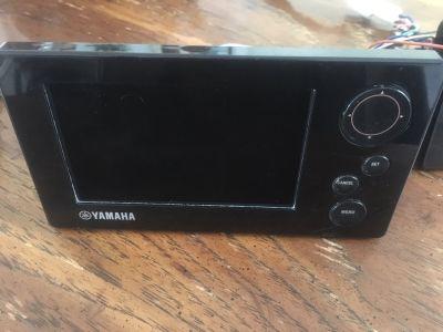 2 Yamaha 6Y9 Command Link Plus Display