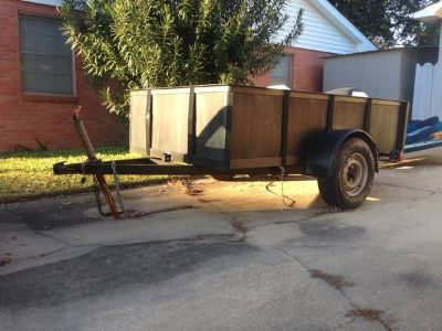 5 x 8 utility trailer sale or trade for small boat
