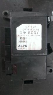 Purchase FRONT LEFT DOOR MODULE PONTIAC BONNEVILLE 00 01 02 03 04 05 P/N 25739948 MATCH motorcycle in Lyles, Tennessee, US, for US $69.00