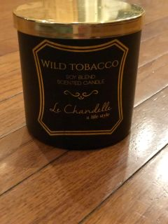 Le Chandelle Wild Tobacco Soy Blend Candle