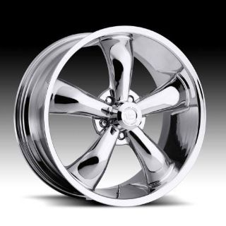 """Buy 18"""" Chrome Vision Legend 5 Wheels Rims Chevy Dodge Ford motorcycle in Ontario, California, US, for US $749.00"""