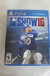 ps4 game mlb the show 16 by sony computer entertainment america
