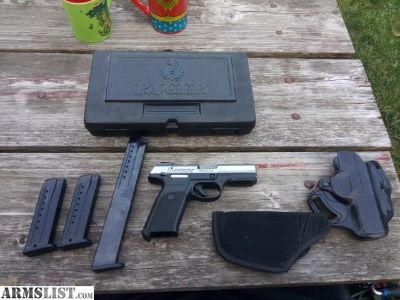 For Sale: Ruger SR9 w/ Extras
