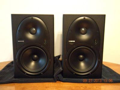 Studio Monitors and Charvel guitar