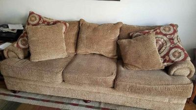 Fluffy Couch