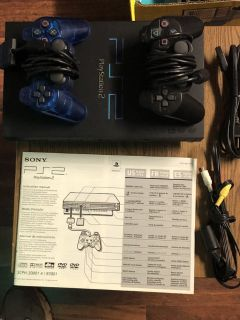 Play Station 2 with 2 Controllers