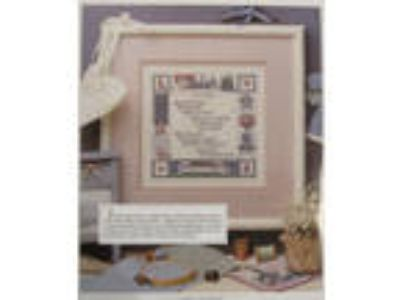 On Quilting counted cross stitch pattern from magazine