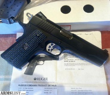 For Sale/Trade: Ruger SR1911 Night Watchman