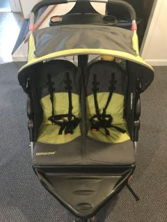 Double Twin Jogging Stroller