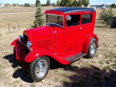 1930 Ford Model A 2 Door Sedan Hot Rod