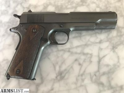 For Sale: 1917 WWI US Army 1911