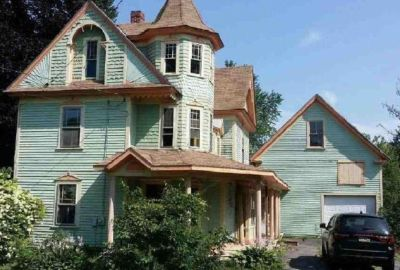 Large Victorian Home With 2 Story Garage Reduced to $39,900!