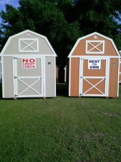 Storage Sheds Rent To Own With No Credit Check