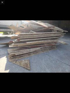 Free 1/2 OSB boards and some 2x4s and 2x6s