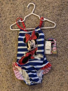 Minnie mouth bathing suit