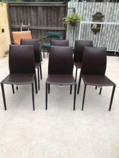 Good dining chairs (6)