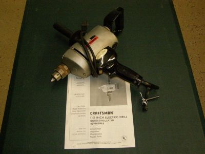 Craftsman 1/2 inch heavy duty drill