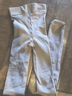 Dark Brown girl s Tights S/M Capezio Brand probably ages 4 to 6