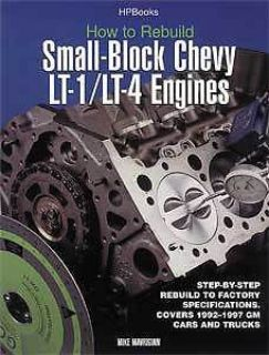 Purchase HP Books 1-557-883939 Book: How to Rebuild Small-Block Chevy LT1/LT4 Engines motorcycle in Delaware, Ohio, United States, for US $18.65