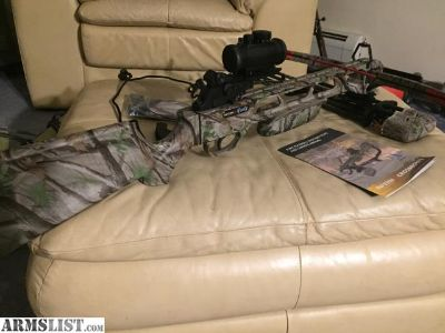 For Sale/Trade: Cva wolf with konus scope +crossbow for?