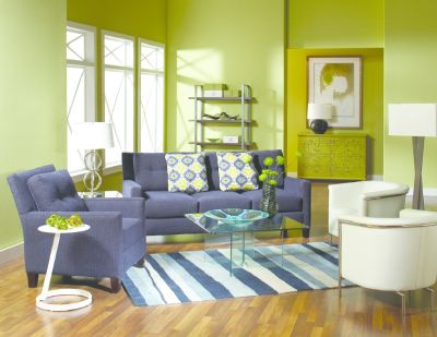Cagny Sofa & Chair Set