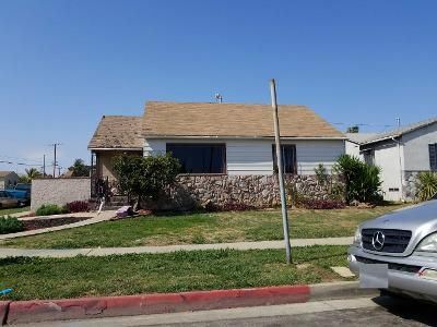 3 Bed 1 Bath Preforeclosure Property in Los Angeles, CA 90047 - W 113th St