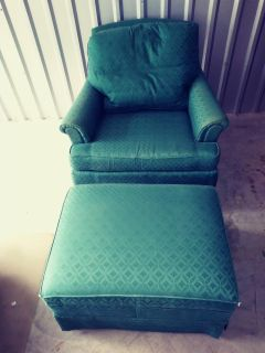 Chair ( Ottoman is free )