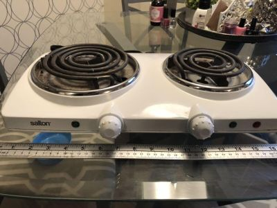 Sulton two burner electric stove top