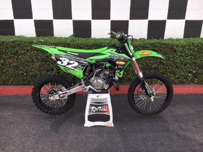 2017 Kawasaki KX100 Motocross Motorcycles Costa Mesa, CA