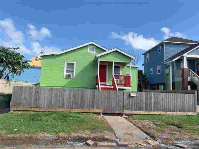 5703 Avenue Q Galveston, Home sweet home! This elevated home