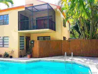 2989 Bird Ave 1 Miami, Awesome Two BR, 1.5 BA townhouse in