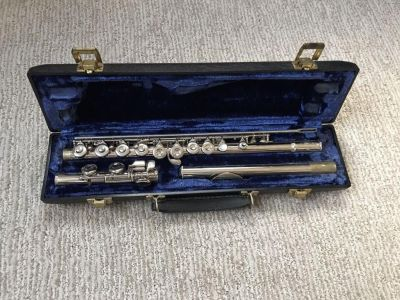 King Flute with case