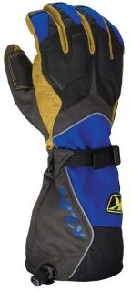 Sell 2013 Klim Men's Summit Snowmobile Gore Tex Glove Blue XS motorcycle in Ashton, Illinois, US, for US $145.99