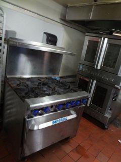 Imperial 6 Burner Range w/Oven RTR# 9041692-03
