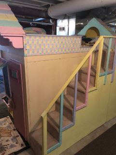 Princess playhouse bed