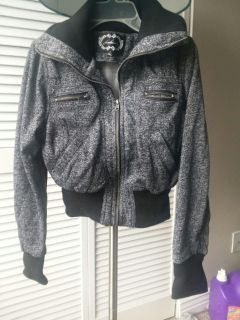 Forever 21 black and Gray jacket
