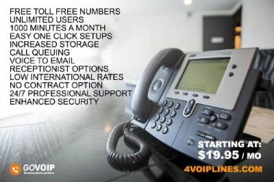 $19 - **Pro Business Phone Systems For Your Business, VOIP Business Lines