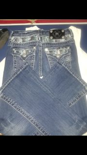 Girls Miss Me jeans size 10
