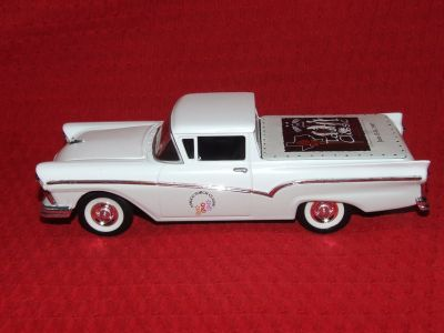 Die Cast Bank 1957 Ranchero Pickup Amoco Torch Classic NEW