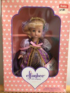 1994 Effanbee Doll Story Book Series Unused