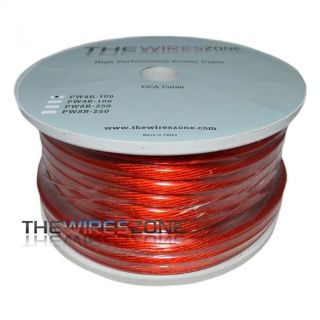 Find The Wires Zone PW4R-100 High Performance Red 4 Gauge 100' Feet Power Cable Wire motorcycle in Los Angeles, California, United States, for US $42.95
