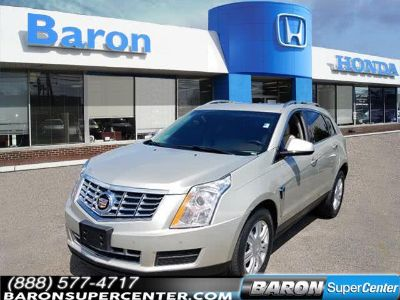 2014 Cadillac SRX Luxury Collection (Silver)