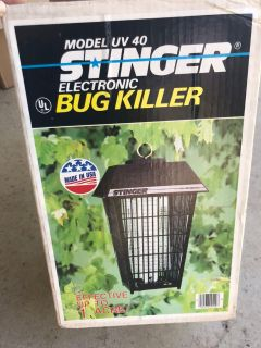 Electronic Bug Killer with hanging pole