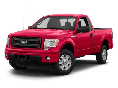 2013 Ford F-150 STX (White)