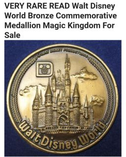 Commemorative Disney Coin