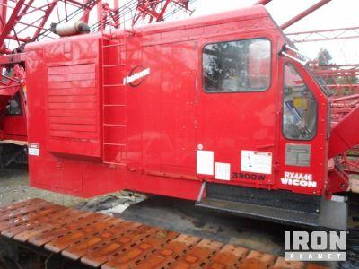 1981 Manitowoc 3900W-II 140 Ton Lattice-Boom Crawler Crane