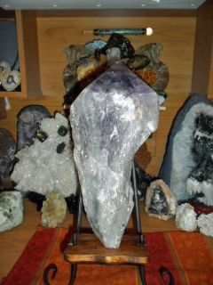 Gorgeous and Beautiful Massive 11.8 LB Natural Amethyst Crystal Pointt